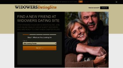 Widowers dating sites