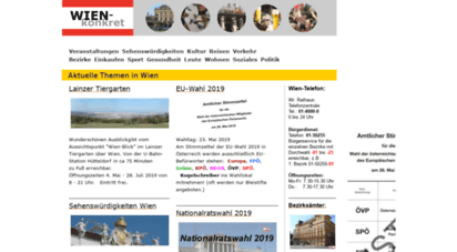 wien-konkret.at - wien-konkret.at : das stadtmagazin für wien 2012 / information city of vienna
