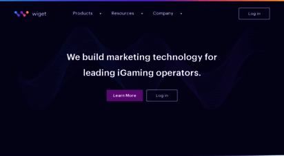 wigetmedia.com - wiget  digital advertising platform