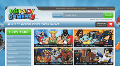 wiiplaygameslv.com - wii play games