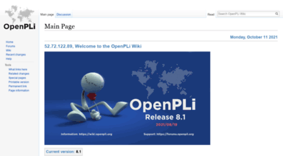 Welcome to Wiki openpli org - OpenPLi Wiki