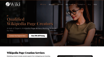 wikicreatorsinc.com - expert wikipedia page creators, writing, editing & profile services by professional wiki page editors & writers for hire  best custom wikipedia page creation service by wiki page maker consultant agency