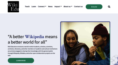 wikiedu.org - wikiedu  improving teachers by student feedback.