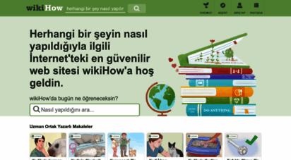 wikihow.com.tr - wikihow: bir şeyin nasıl yapılacağına ilişkin güvenebileceğin talimatlar