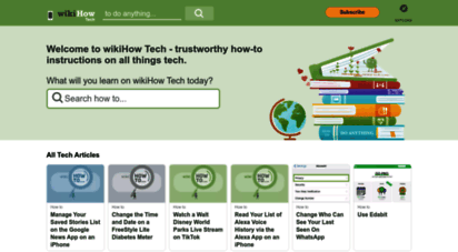 wikihow.tech - wikihow tech - trustworthy how to technical help
