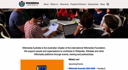 wikimedia.org.au - wikimedia australia