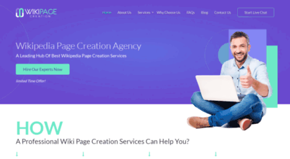 wikipagecreation.com - professional wikipedia page creation services  best wiki page creation agency