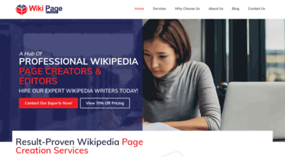 wikipagecreator.net - professional wikipedia page creator & maker agency for wiki page creation, editing & writing services  best wikipedia consultant for custom wiki page editors, generator & writers for hire