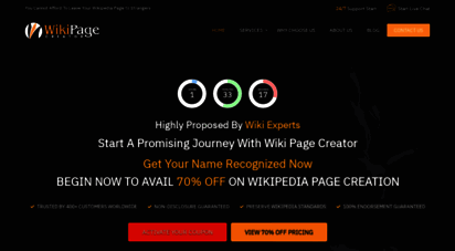 wikipagecreator.org - professional wikipedia page creators, writing, editing & creation services by experts wikipedia page writers & editors for hire  custom wiki page maker consultant for agency