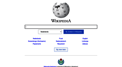 wikipedia.nl - wikipedia nl