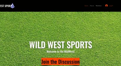wildwestsports.com