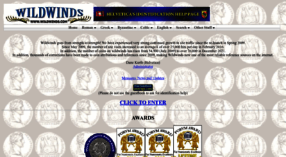 wildwinds.com - ancient coins: roman, greek, byzantine and celtic numismatic reference for attribution and values