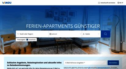 wimdu.de - wimdu - ferienwohnungen und apartments günstiger