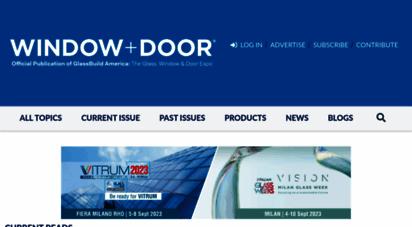 windowanddoor.com - window & door  the information source for the fenestration industry