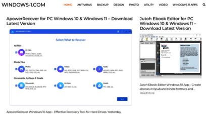 windows-1.com - windows-1.com - windows 10 best apps & games download