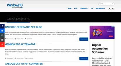 windows10compatible.com - windows 10 compatible software free downloads