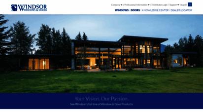 windsorwindows.com - windsor windows  home