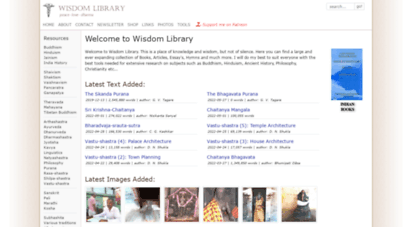 wisdomlib.org - wisdom library the portal for hinduism, sanskrit, buddhism, jainism, mesopotamia etc...