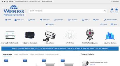 Welcome to Wisp net au - Wireless Professional Solutions