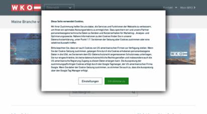 wko.at - wko.at das portal der wirtschaftskammern - service - wko.at