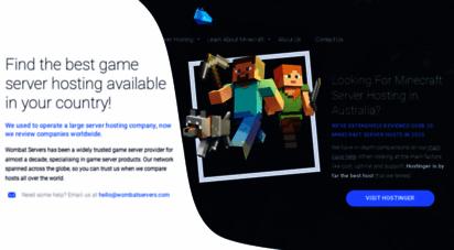 wombatservers.com - wombat servers - premium game servers