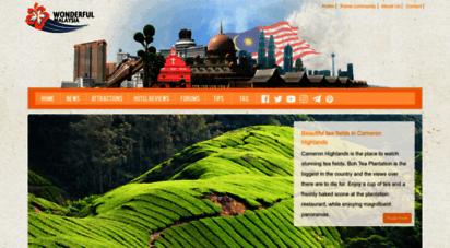 wonderfulmalaysia.com - wonderful malaysia  travel guide to the beautiful country of malaysia