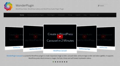 wonderplugin.com - wordpress plugins  wordpress slider, wordpress gallery and wordpress audio player plugin