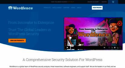 wordfence.com - wordpress security plugin  wordfence