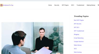 wordpressprotips.com - everything about wordpress - seo, adsense, & make money online