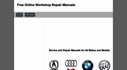 workshop-manuals.com - free online workshop repair manuals