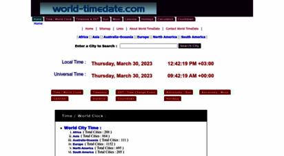 world-timedate.com - current local time, sunrise, sunset, moonrise, moonset time of world cities- world-timedate.com