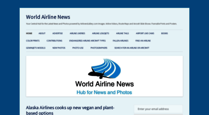 worldairlinenews.com - world airline news  latest news and photos powered by airlinersgallery.com images. airline videos, route maps and aircraft slide shows. framable prints and posters.