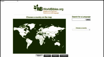 worldbibles.org - bibeln: finden sie fremdsprachige bibeln in über 4000 weltsprachen