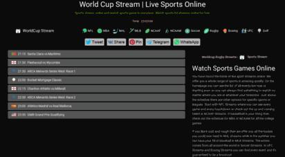 worldcuplive.stream - website traffic checker