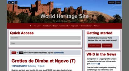 worldheritagesite.org - world heritage site
