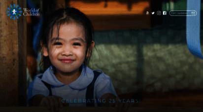 worldofchildren.org - world of children - charitable organization & foundation