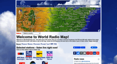 worldradiomap.com - world radio map