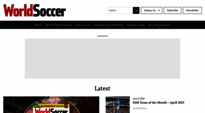 worldsoccer.com - world soccer