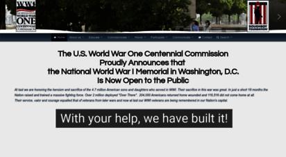 worldwar1centennial.org