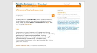 wortbedeutung.info