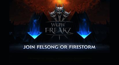 wow-freakz.com - wow freakz - the evolution of world of warcraft