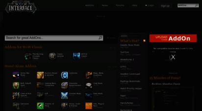 wowinterface.com - world of warcraft addons