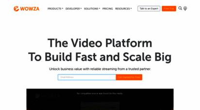 wowza.com -