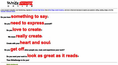 writedesignonline.com - writedesign online