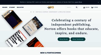 wwnorton.com - home page  w. w. norton & company