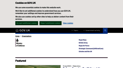 mod.uk - ministry of defence - gov.uk