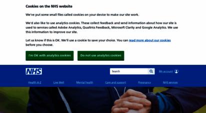 nhs.uk - the nhs website - nhs