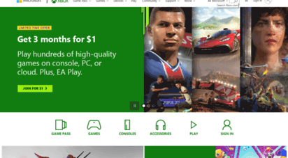 xbox.com - xbox official site: consoles, games, and community  xbox