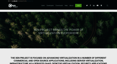 xenproject.org - the xen project, the powerful open source industry standard for virtualization.
