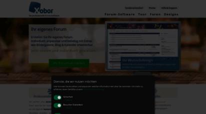 xobor.de - xobor - die professionelle forum software. jetzt ein forum erstellen